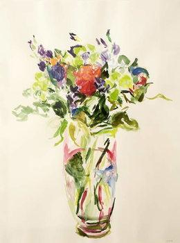 Konsttryck Bouquet