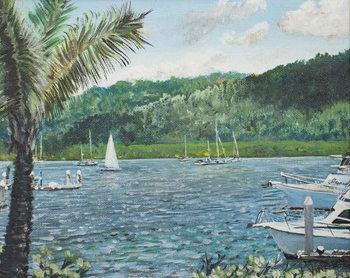 Konsttryck Cairns, Australia,1998,