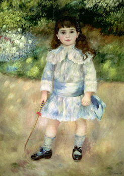 Konsttryck Child with a Whip, 1885