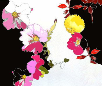 Konsttryck  China Garden