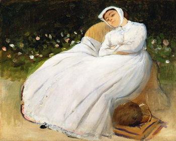 Konsttryck Désirée Musson, 1873