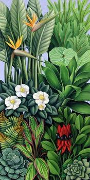 Konsttryck Foliage II