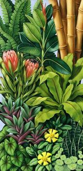 Konsttryck Foliage III