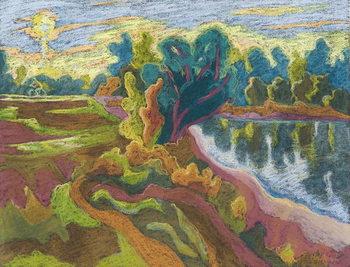 Konsttryck  Idyll, 2008