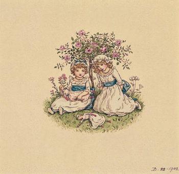 Konsttryck Illustration for 'St. Valentines Day' 1902