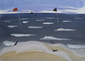 Konsttryck La Mer par Mistral, 1987