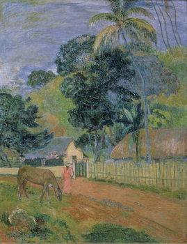 Konsttryck Landscape, 1899