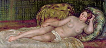 Konsttryck  Large Nude, 1907