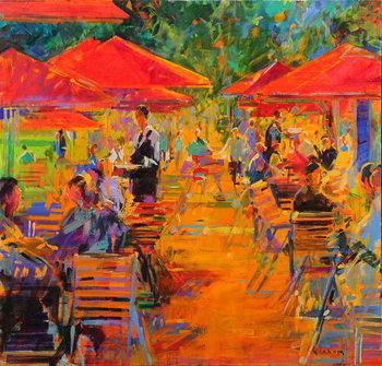 Konsttryck Le Jardin des Tuileries