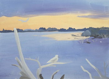 Konsttryck Le Rhone au Gabian, 1987