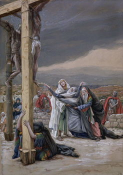 Konsttryck Mater Dolorosa, illustration for 'The Life of Christ', c.1884-96