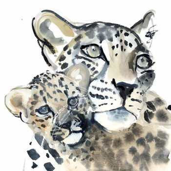 Konsttryck Maternal Bond, 2015,