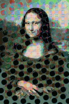 Konsttryck Mona Lisa