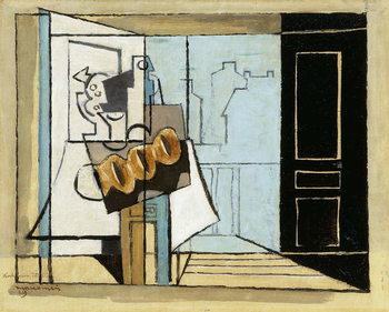 Konsttryck  Monday, the Open Window; Lundi, la Fenetre Ouverte, 1929