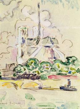 Konsttryck  Notre-Dame, 1925