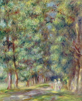 Konsttryck Path in a Wood, 1910