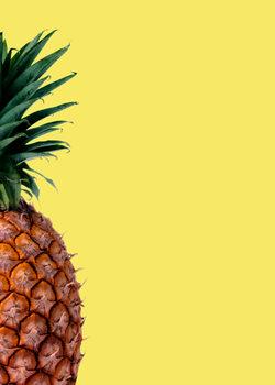 Exklusiva konstfoton Pinapple yellow