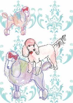 Konsttryck Poodles, 2013