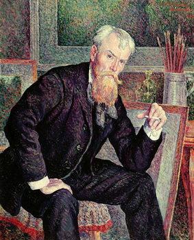 Konsttryck Portrait of Henri Edmond Cross (1856-1910) 1898 (oil on canvas)