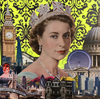 Konsttryck Queen, 2015,