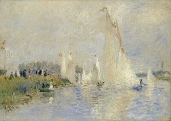 Konsttryck  Regatta at Argenteuil, 1874
