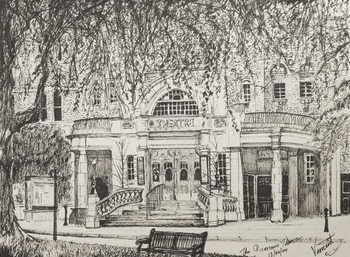 Konsttryck Richmond Theatre, London, UK, 2004,