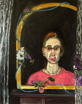 Konsttryck Self Portrait- Timeline, 2015,