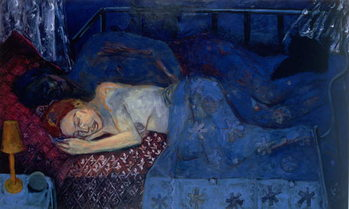 Konsttryck Sleeping Couple, 1997