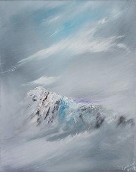 Konsttryck  Snowdon 1, 2014,