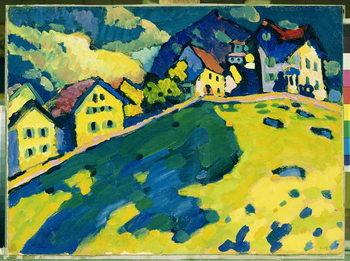 Konsttryck  Summer Landscape, 1909
