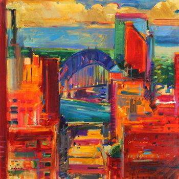 Konsttryck Sydney Harbour Bridge, 2012