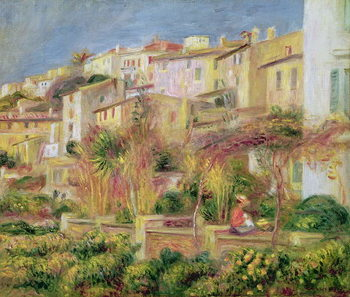 Konsttryck Terrace in Cagnes, 1905