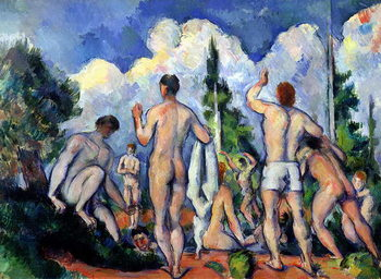 Konsttryck  The Bathers, c.1890-92