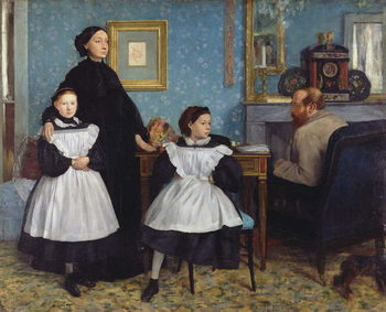 Konsttryck The Bellelli Family, 1858-67