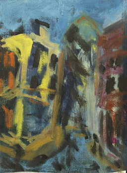Konsttryck The City, 2014,