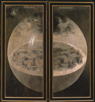 Konsttryck  The Creation of the World from 'The Garden of Earthly Delights', 1490-1500