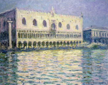 Konsttryck The Ducal Palace, Venice, 1908