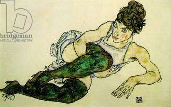Konsttryck The Green Stockings, 1917