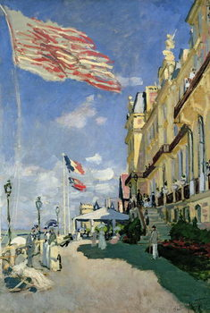Konsttryck  The Hotel des Roches Noires at Trouville, 1870