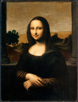 Konsttryck  The Isleworth Mona Lisa