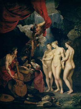 Konsttryck The Medici Cycle: Education of Marie de Medici (1573-1642) 1621-25