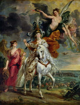 Konsttryck  The Medici Cycle: The Triumph of Juliers, 1st September 1610, 1622-25
