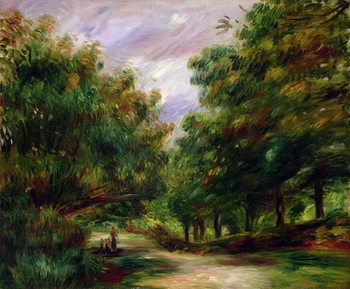Konsttryck  The road near Cagnes, 1905