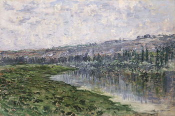 Konsttryck The Seine and the Hills of Chantemsle; La Seine et les Coteaux de Chantemsle, 1880