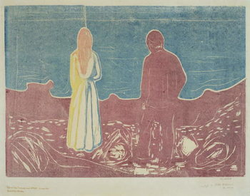 Konsttryck  Two People, 1899