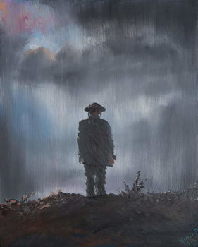 Konsttryck  Unknown Soldier 1918, 2014,