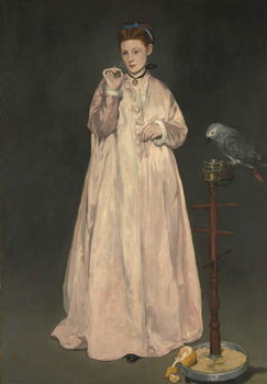Konsttryck Young lady in 1866