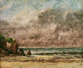 A Calm Seascape Festmény reprodukció