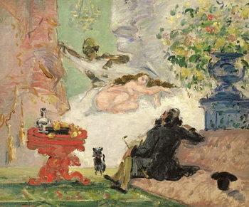 A Modern Olympia, 1873-74 Festmény reprodukció