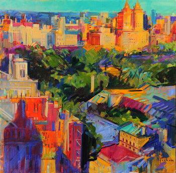 Above Central Park Festmény reprodukció
